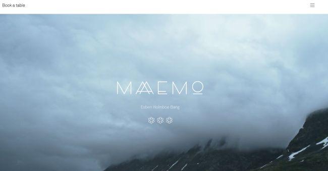 Diseño minimalista en sitios web: video escena