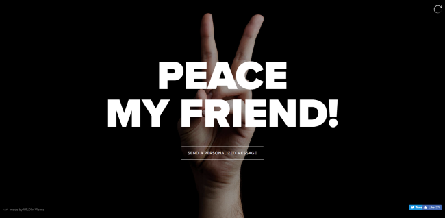 Diseño minimalista en sitios web: mensaje directo