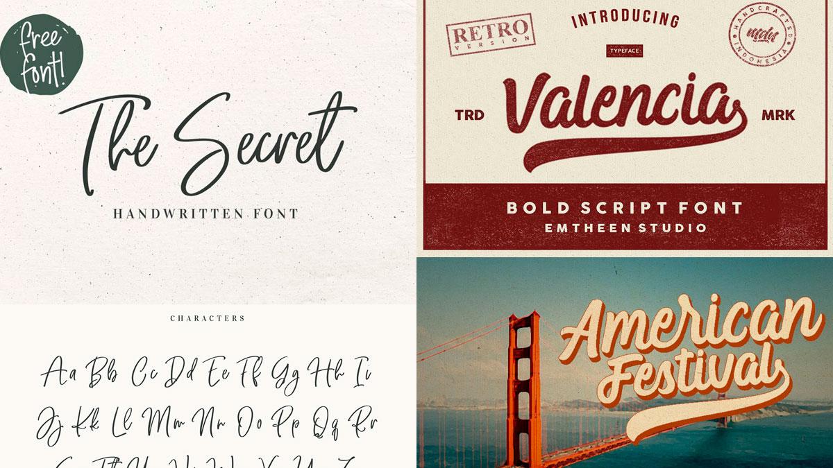 20 fuentes vintage gratis para diseñadores gráficos
