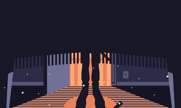 ilustración, Cómo crear un escondite de miedo debajo de la ilustración de la cama