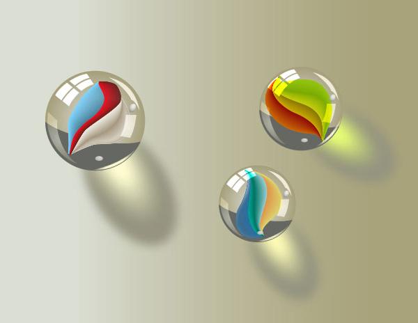 Aprenda cómo crear algunas bolas de mármol en Adobe Illustrator