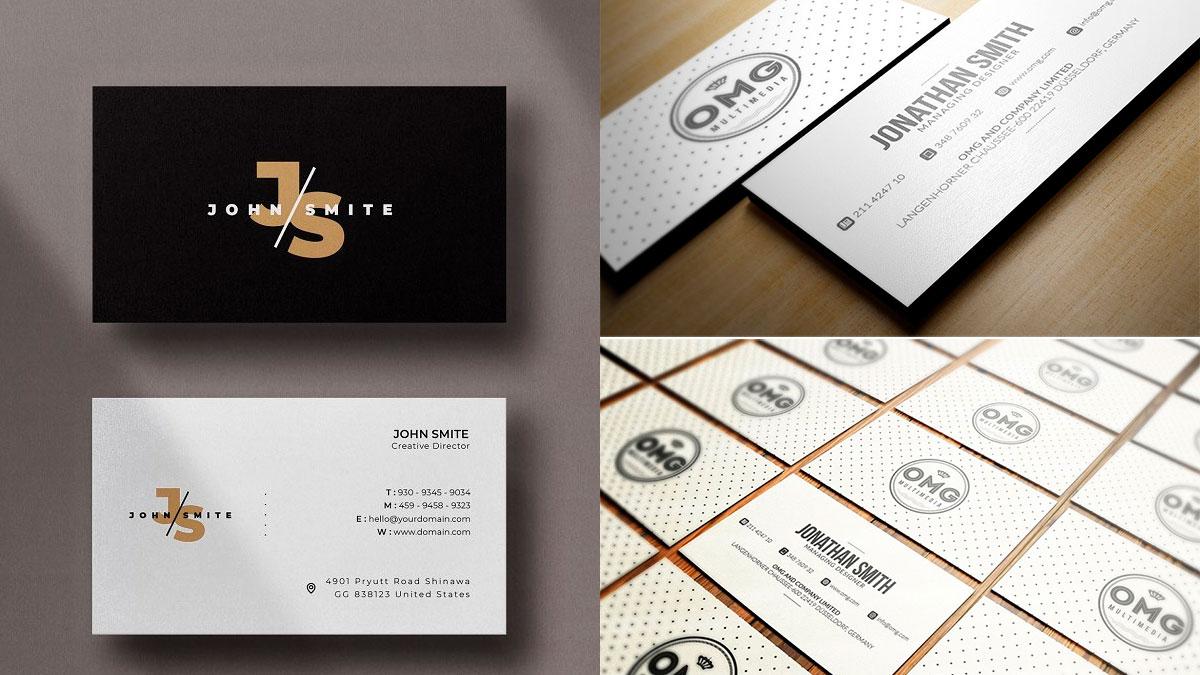 nuevas tarjetas de presentación creativas