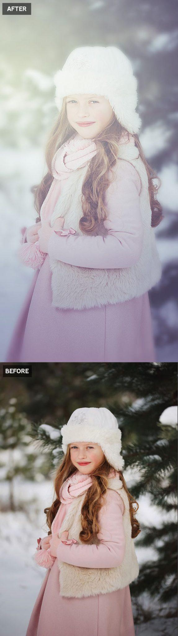 Cómo crear una acción de Photoshop con efecto de niebla