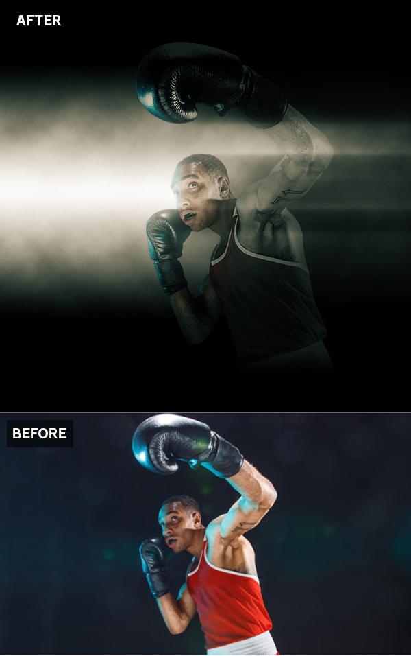 Cómo hacer un efecto de Spotlight