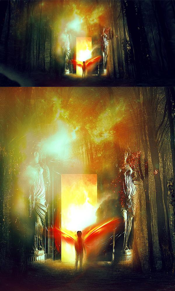 Crear portal para otra manipulación de fotos de reino