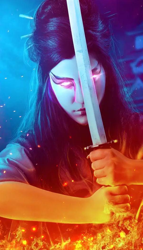 Cómo crear una manipulación de fotos de samurai con Photoshop