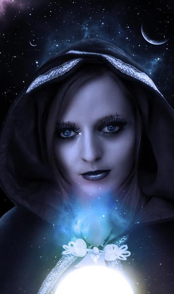 Cómo crear una manipulación de fotos Mystic Lady