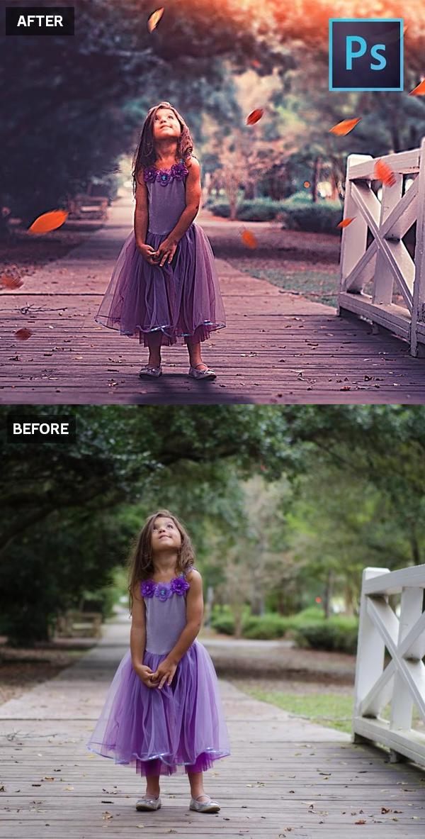 Cómo convertir fotos aburridas en deslumbrantes retratos geniales en Photoshop