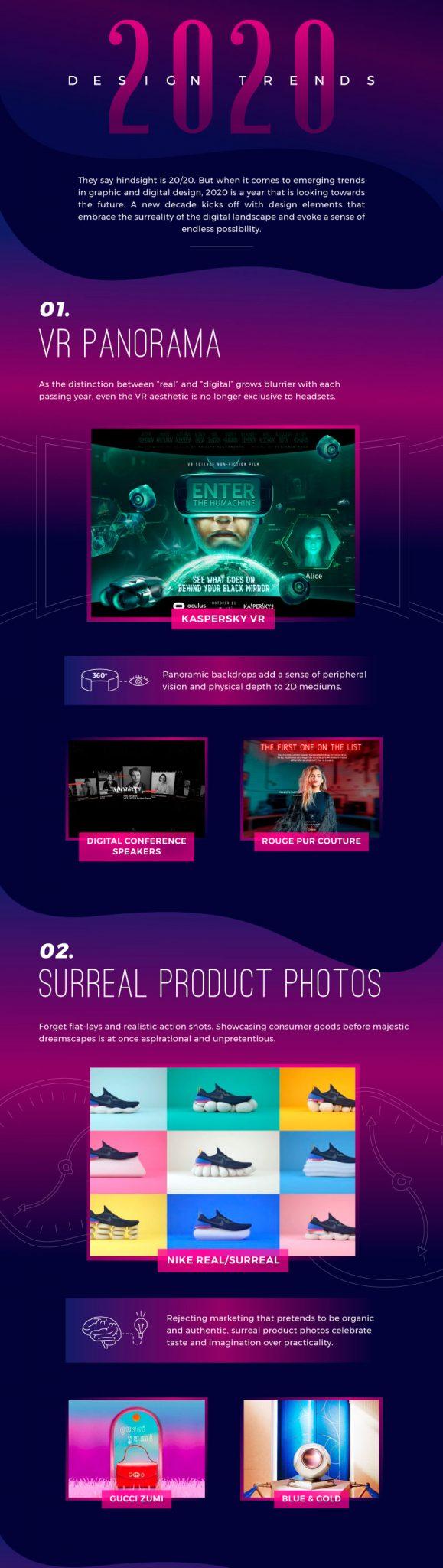 diseño digital y gráfico, Tendencia de diseño 2020
