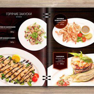 diseño de menus
