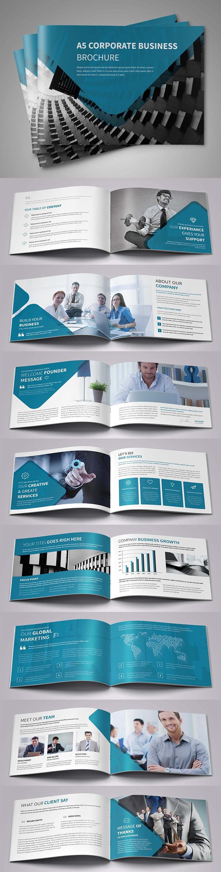 folletos profesionales - paisaje corporativo
