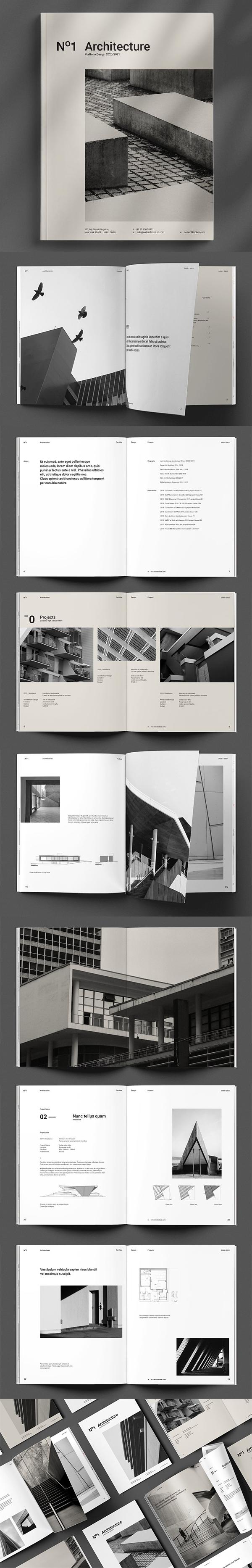 folletos profesionales - arquitectura