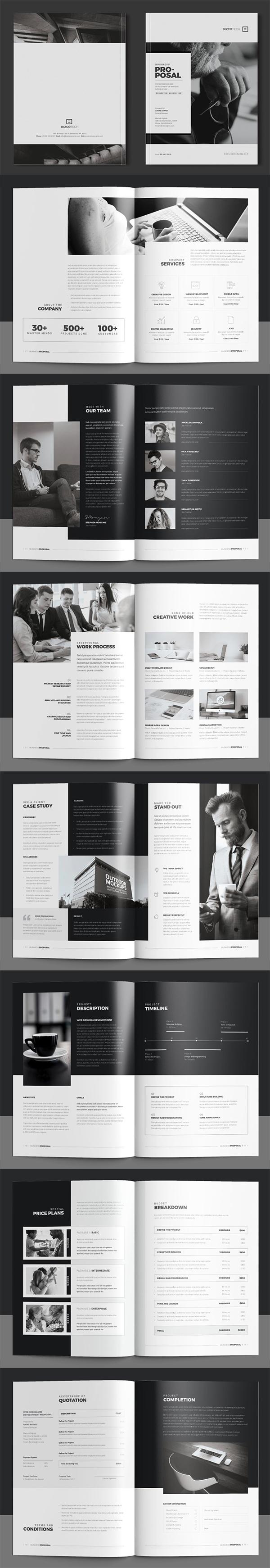 folletos profesionales, Mejor propuesta de negocios