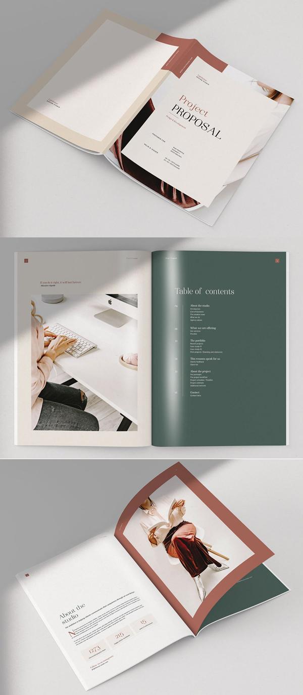 Faro - folletos profesionales - propuesta de proyecto