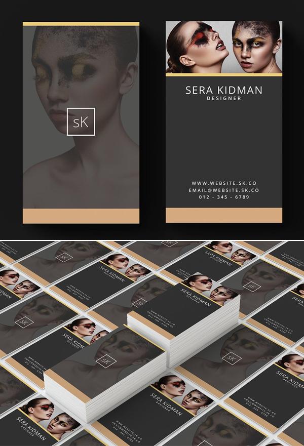 Elegante Tarjetas de presentación creativas