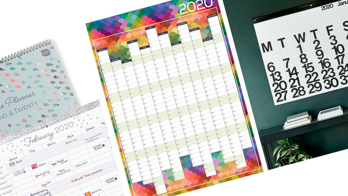 calendarios para el año 2020