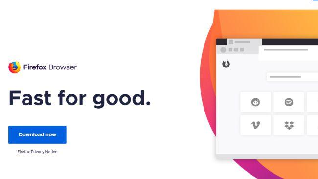 Firefox, mejores navegadores 2020