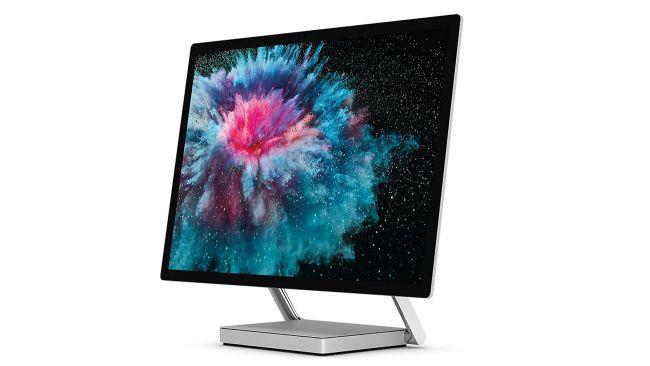 Surface studio 2 compurador de escritorio para edición de video