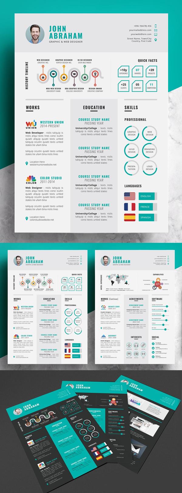 Curriculum vitae de información / CV