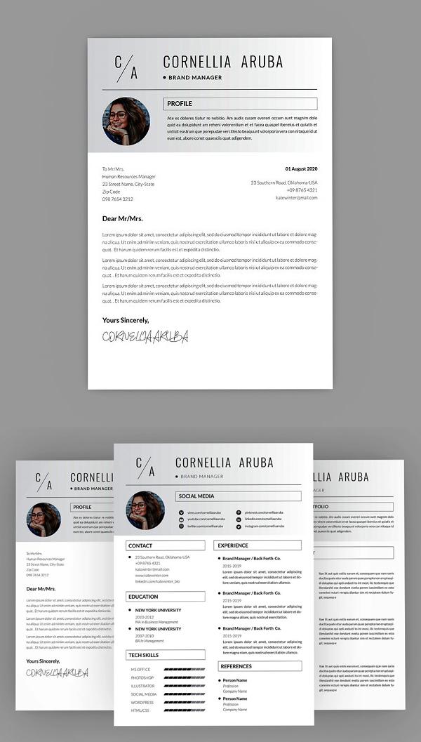 Cornellia Brand reanudar el diseño