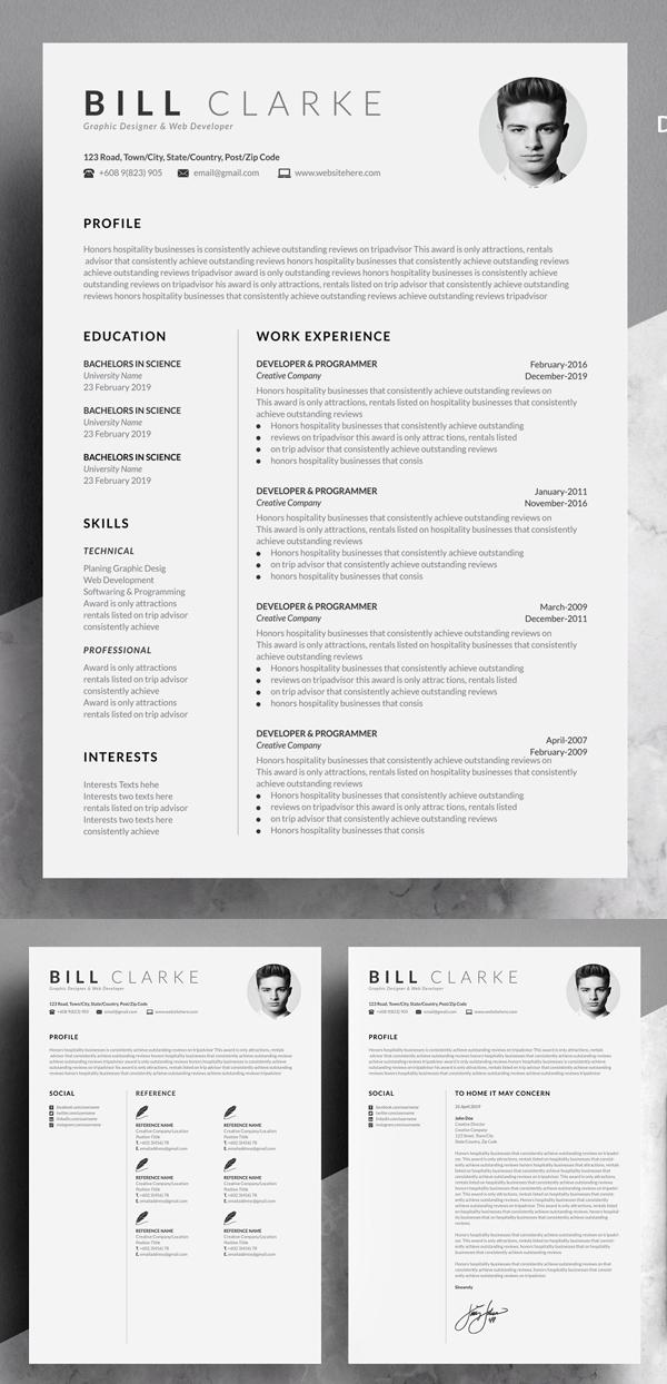 Currículum Vitae y Carta de Presentación