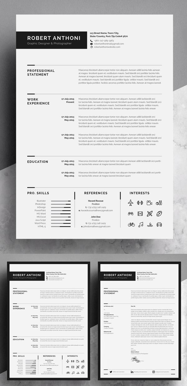 Curriculum vitae / CV impresionante