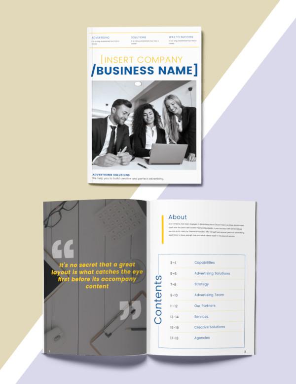 Plantillas de catálogos , publicidad-catálogo-plantilla