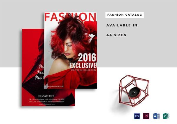 Plantillas de catálogos , moda-catálogo-plantilla