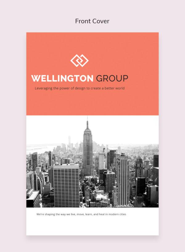 Plantillas de catálogos , plantilla de catálogo de negocio libre
