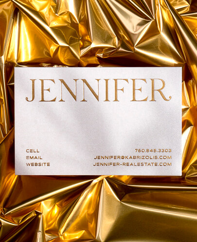 diseño gráfico en 2020 - Ejemplo de aspecto dorado y metal 6
