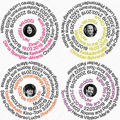 diseño gráfico en 2020 - Formas del texto Ejemplo 4