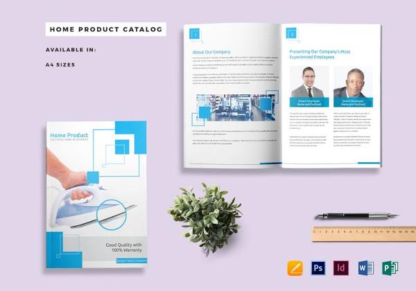 Plantillas de catálogos , Inicio-producto-catálogo-plantilla