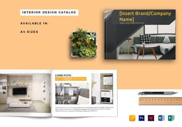 Plantillas de catálogos , plantilla-catálogo-interior