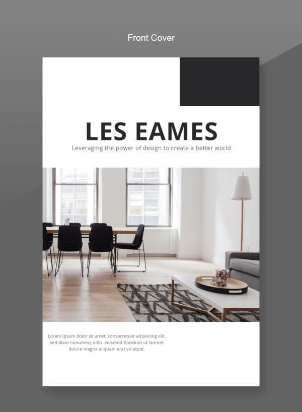 Plantillas de catálogos , diseño de interiores-plantilla-catálogo