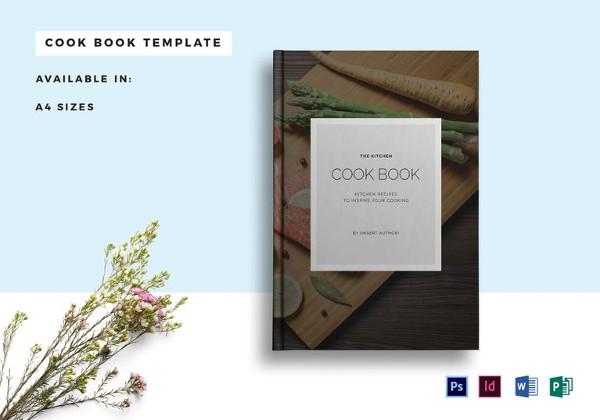 Plantillas de catálogos , receta-libro de cocina-catálogo-plantilla