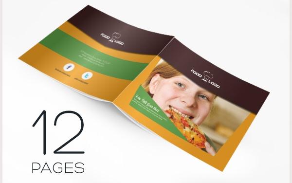 catálogo de restaurantes 12 paginas