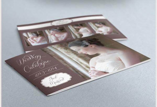 plantilla de catálogo de boda