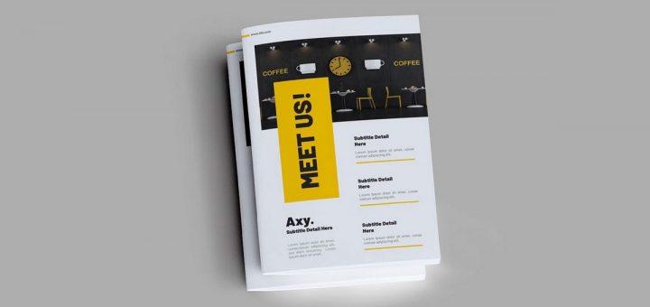 nuevos brochures o folleros