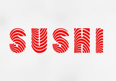Tendencias de diseño de logotipos Fuentes personalizadas Ejemplo 1
