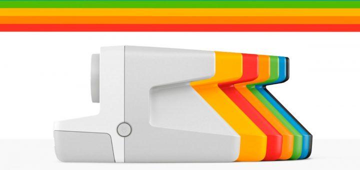 Polaroid explisión de color