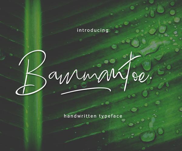 Fuente Bammantoe Gratis