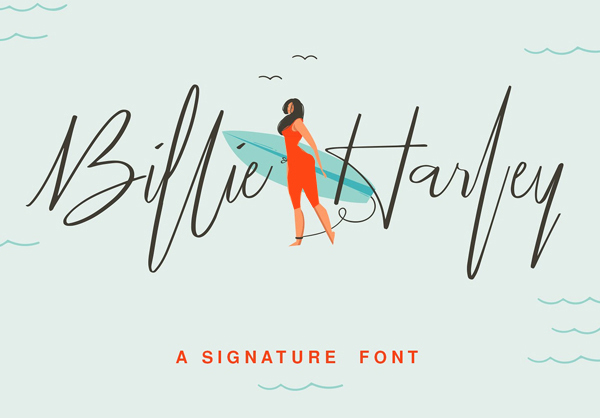 Fuente Billie Harley Signature Gratis