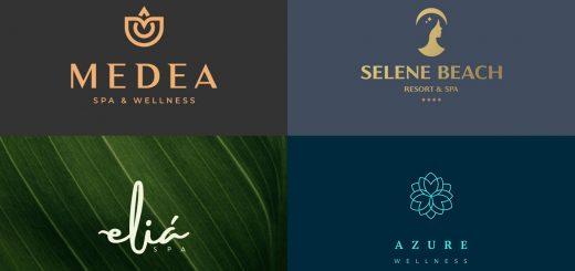 Logotipos para spa y masajes