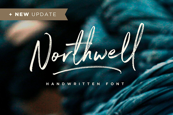 Fuentes tipo firma: Northwell Font