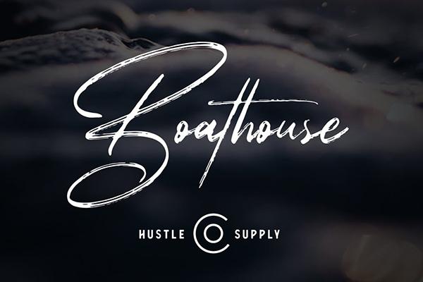 Boathouse - Brush Signature Script