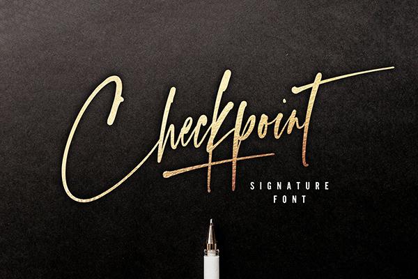 Fuente Checkpoint Signature