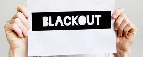 Fuentes frescas y modernas pra tus diseños: Blackout Free Font