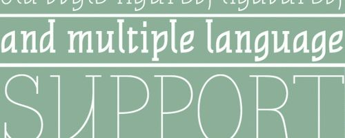 Stahlbeton Free Font