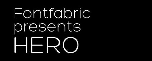 Fuentes frescas y modernas pra tus diseños: Fuente libre de tela