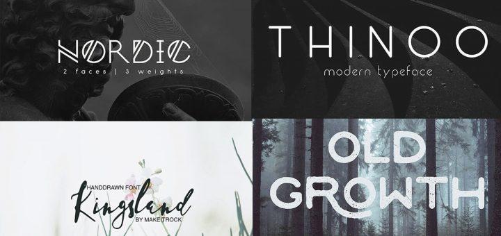 Fuentes para logotipos 2020